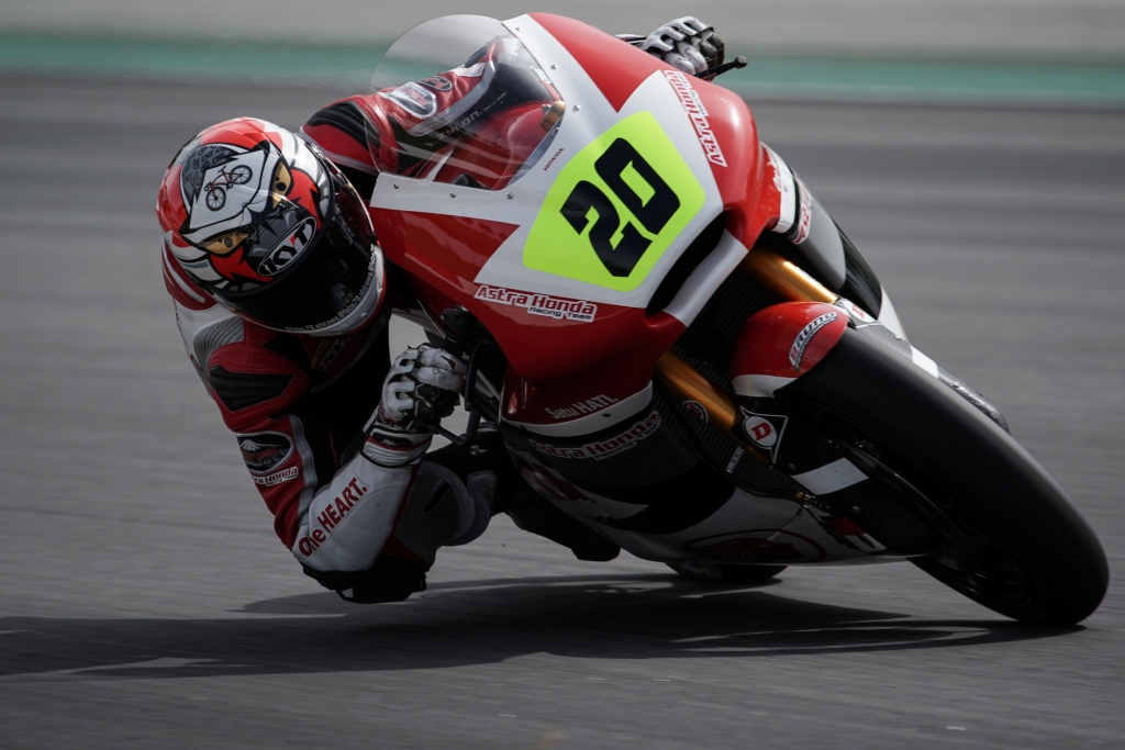 Dimas Ekky kembali dapat jatah wild card Moto2. AHM