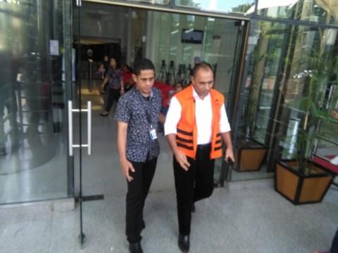 Tersangka kasus suap Marianus Sae/Medcom.id/Hasan