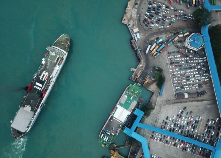58 Kapal Siaga di Pelabuhan Merak