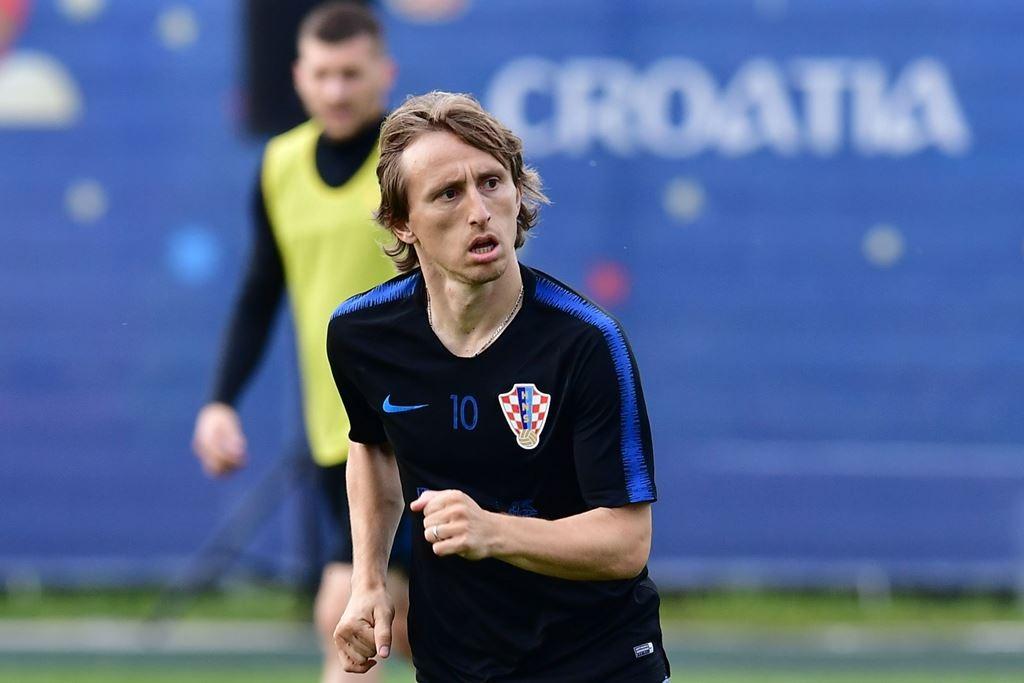 Gelandang Kroasia Luka Modric (Foto: AFP PHOTO / GIUSEPPE CACACE)