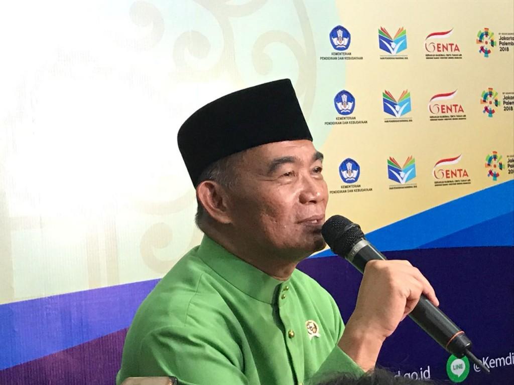 Menteri Pendidikan dan Kebudayaan, Muhadjir Effendy, Medcom.id/Intan Yunelia.
