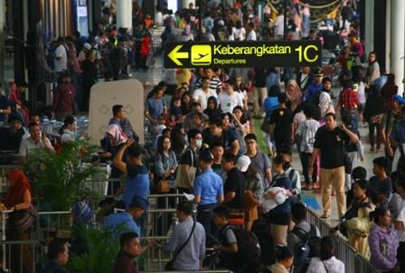 Bandara Soetta Paling Padat