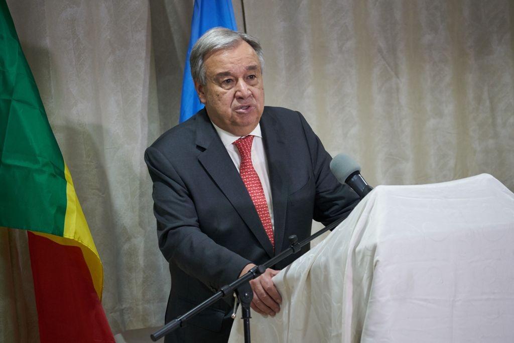 Sekretaris Jenderal PBB Antonio Guterres. (Foto: AFP)