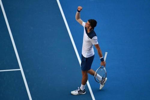 Petenis Serbia Novak Djokovic (Foto: AFP)