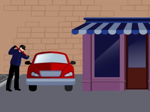 Ilustrasi pencurian - Medcom.id.