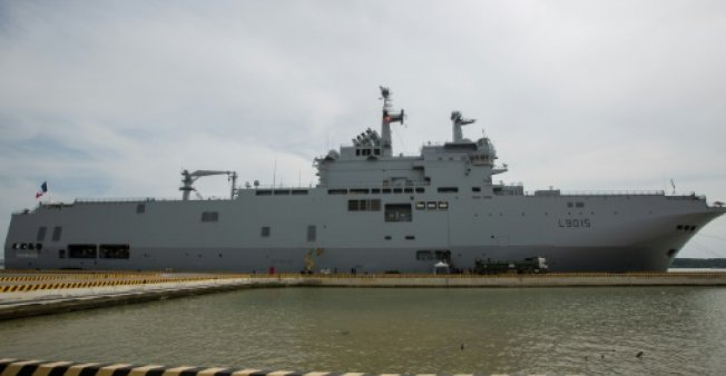 The French navy's assault ship Dixmude late last month sailed around the South China Sea to push back against Beijing's claim to own most of the resource-rich waters. (Photo:AFP/Kao Nguyen)
