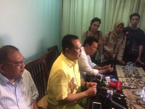 Bambang Soesatyo dalam sebuah diskusi di Jakarta, Selasa, 12