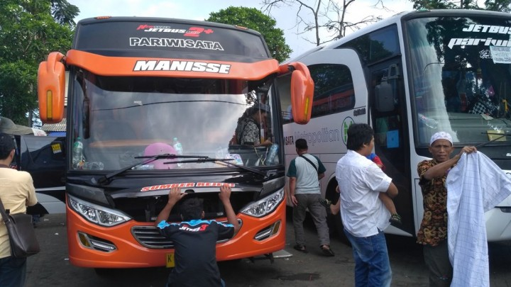 Mudik Lancar Meringankan Beban Sopir Bus