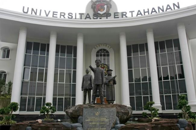 Universitas Pertahanan di Kawasan IPSC Sentul, Bogor, Kamis (26/1/2017). Foto: MI/Bary Fathahilah