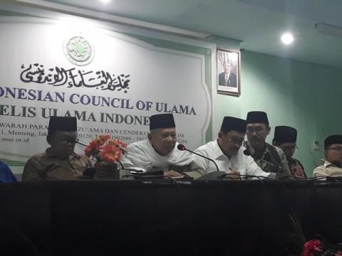 Ketua Umum Majelis Ulama Indonesia (MUI) Maruf Amin--Medcom.id/M
