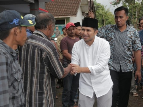 Calon Wakil Gubernur Jawa Timur, Emil Elistianto Dardak saat