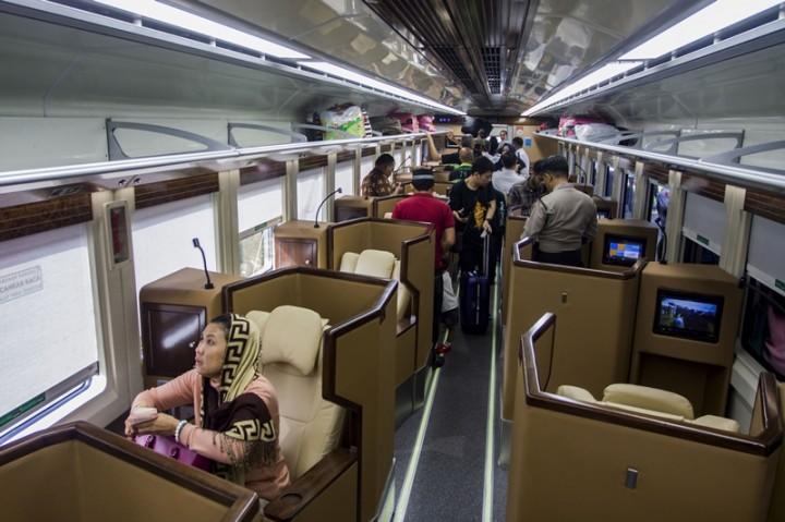 Kereta <i>Sleeper</i> Jarang Diminati karena Harga Selangit