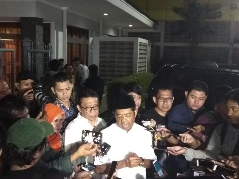 Menteri Sosial Idrus Marham. (Foto: Medcom.id/Whisnu Mardiansyah).