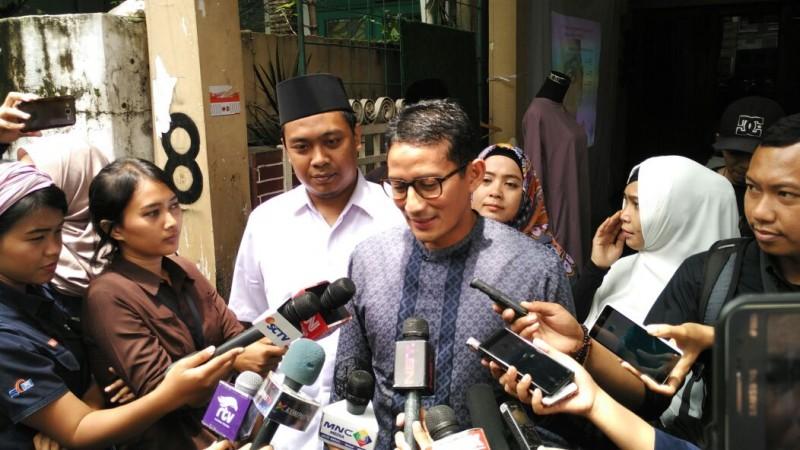 Wakil Ketua Dewan Pembina Partai Gerindra Sandiaga Uno/Medcom.id/Dehri Agriesta