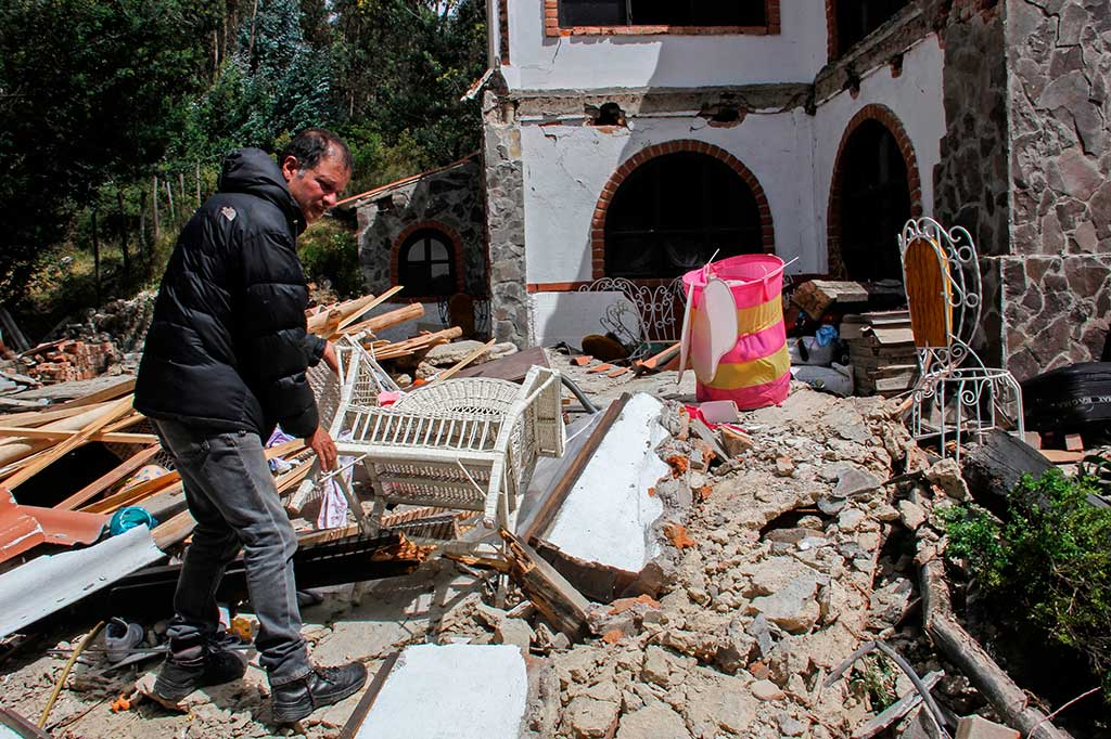 Gempa Guncang Kolombia, 2 Orang Tewas