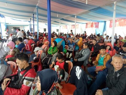 Pemudik di Pelabuhan Tanjung Priok, Jakarta Utara. Foto: