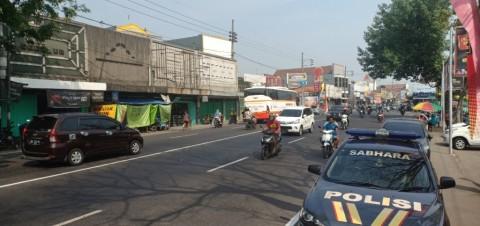 Arus Pemudik di Jalan Nasional Surabaya – Madiun / Nurul