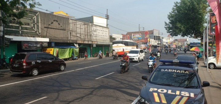 Pemudik Motor Dominasi Jalur Nasional Surabaya-Madiun