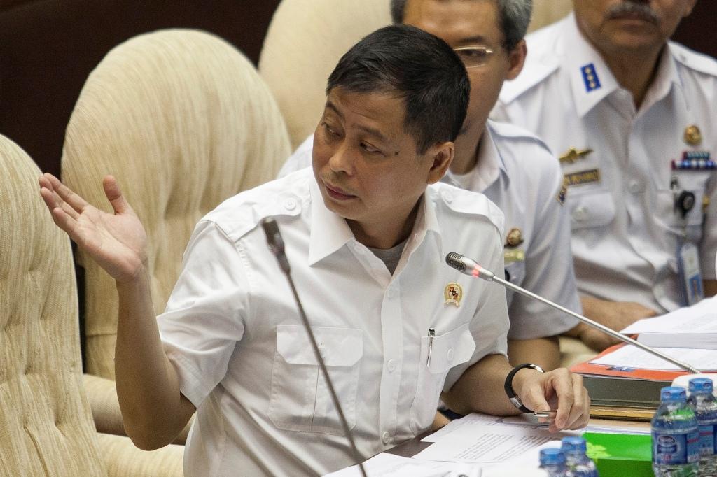 Menteri ESDM Ignasius Jonan (ANTARA FOTO/Sigid Kurniawan)