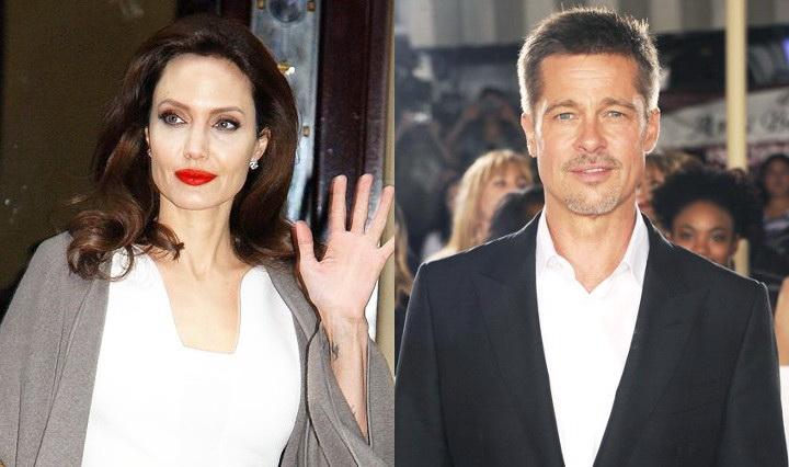 Angelina Jolie dan Brad Pitt (Foto: wenn)