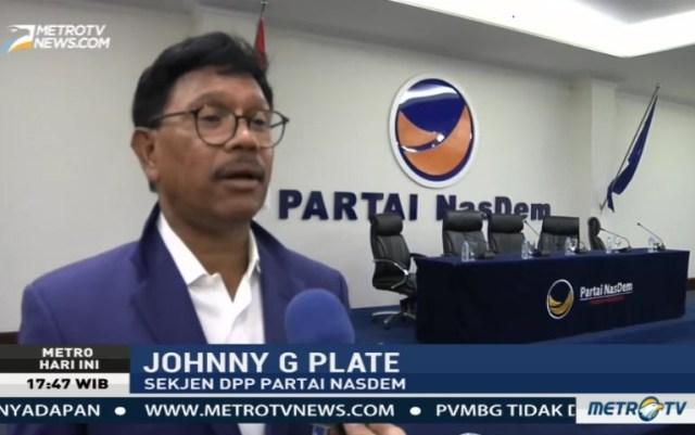 Wakil Ketua Fraksi NasDem Johnny G Plate.