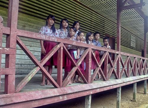 Sekolah Dasar (SD) Negeri 16 Nanga Hovat, Kapuas Hulu,