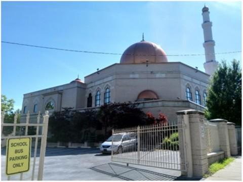 Masjid Al-Farooq di Atlanta, Amerika Serikat menjadi titik temu