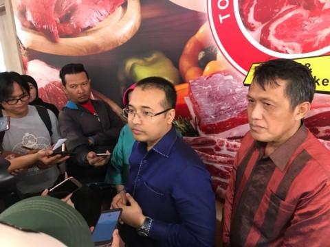 Direktur Utama PT Suri Nusantara Jaya Dimas Wibowo. (FOTO: