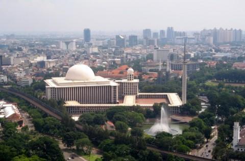 Masjid Istiqal. Foto: Medcom.id/Luhur.
