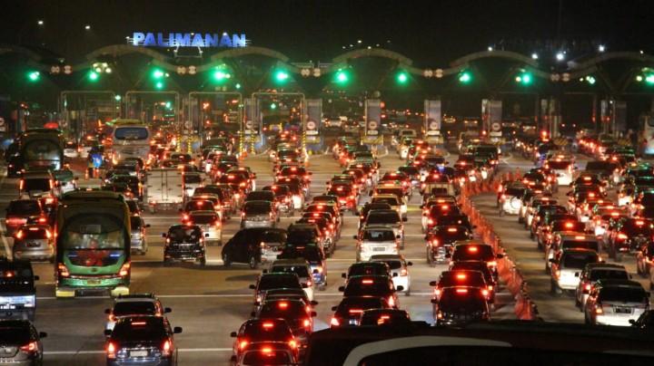 55 Ribu Kendaraan Melintas di Tol Cipali