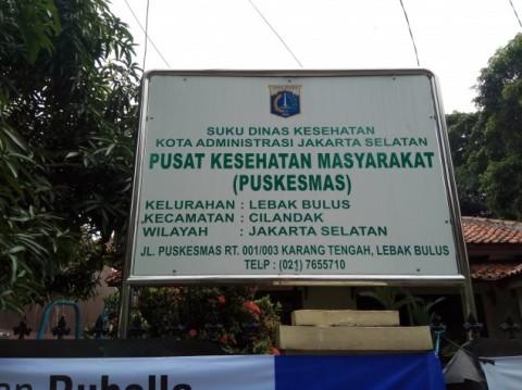 Puskesmas Lebak Bulus. Foto: Medcom.id/Faisal Abdalla.