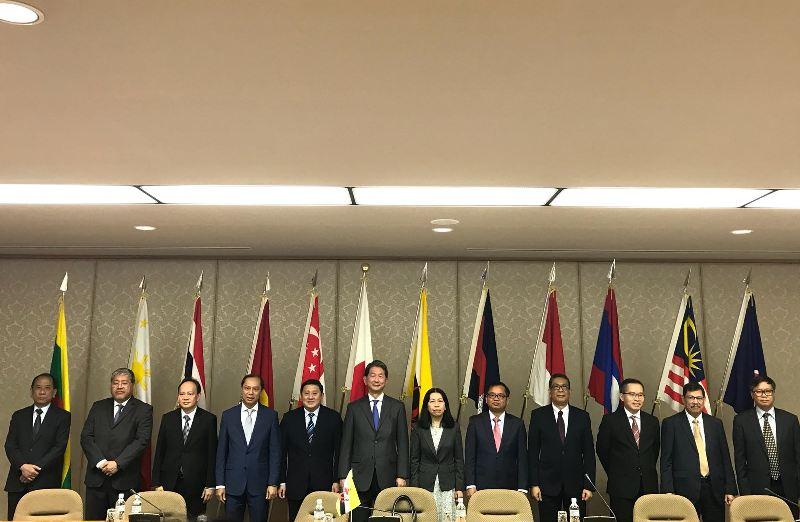 Pertemuan ASEAN-Japan Forum (AJF) ke-33 yang berlangsung di Tokyo, Jepang, 13 Juni 2018. (Foto: Dit Kerja sama Eksternal Kemenlu RI).
