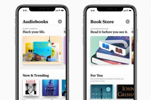 Apple merilis preview untuk aplikasi buku digital terbarunya,