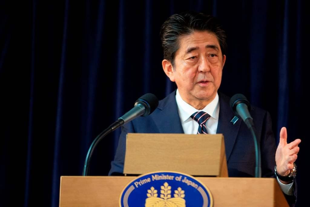 PM Jepang Shinzo Abe. (Foto: AFP)