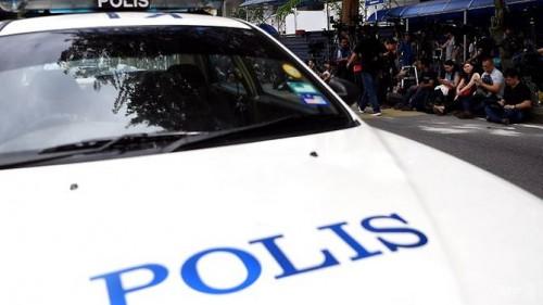 Mobil polisi otoritas Malaysia. (Foto: AFP)