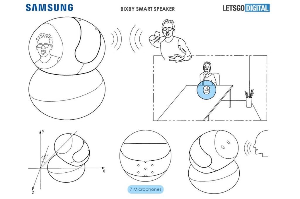 Informasi berupa paten untuk speaker cerdas Samsung beredar, menampilkan dukungan kamera dan layar sentuh.