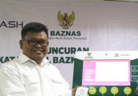 Deputi Baznas Arifin Purwakananta--Istimewa