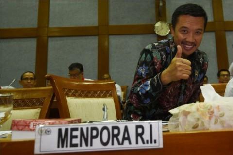 Menteri Pemuda dan Olahraga Imam Nahrawi. (ANTARA FOTO/Akbar