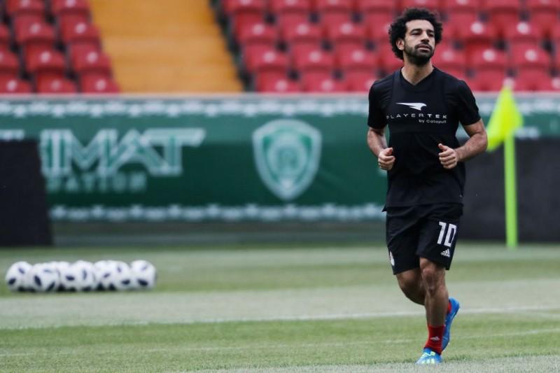 Mohamed Salah (AFP PHOTO/KARIM JAAFAR )