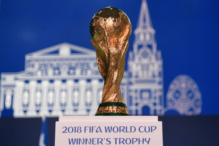 Germany will be aiming to retain the World Cup trophy in Russia. (Photo:AFP/Kirill Kudryavtsev)