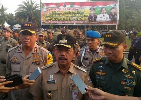 Wali Kota Jakarta Pusat Mangara Pardede. Medcom.id/ Ilham Wibowo