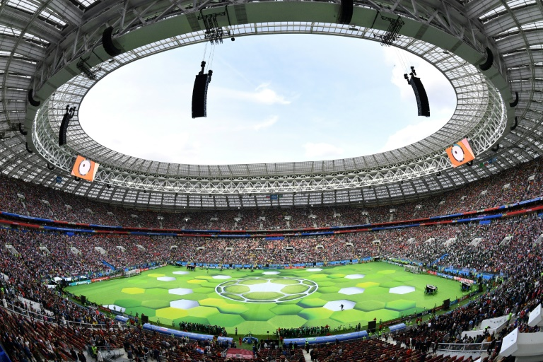 The Luzhniki Stadium in Moscow is hosting the opening match of the World Cup. (Photo:AFP/Mladen Antonov)