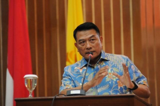 Kepala Staf Kepresidenan Moeldoko. Foto: Antara/Indrianto Eko.