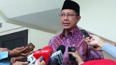 Menteri Agama Lukman Hakim--Metrotvnews.com/Dheri Agriesta