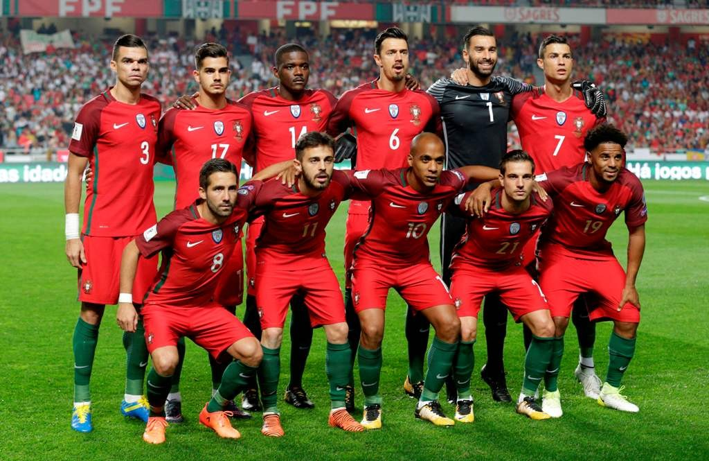 Skuat Timnas Portugal di Piala Dunia 2018 (Foto: AFP PHOTO - JOSE MANUEL RIBEIRO)