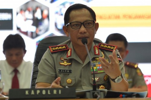 Kapolri Jenderal Tito Karnavian. Antara Foto Akbar Nugroho Gumay