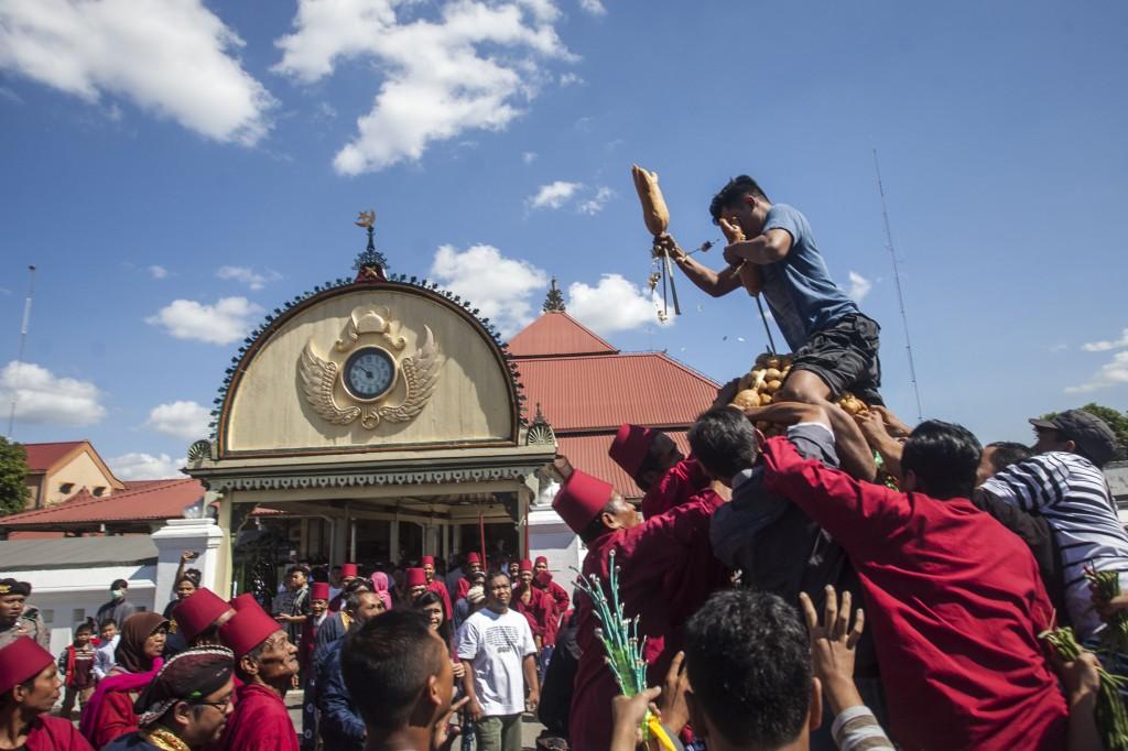 Grebeg Syawal 1439 H Kraton Yogyakarta