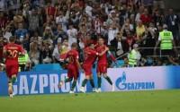 Ronaldo Gemilang, Portugal Tahan Imbang Spanyol