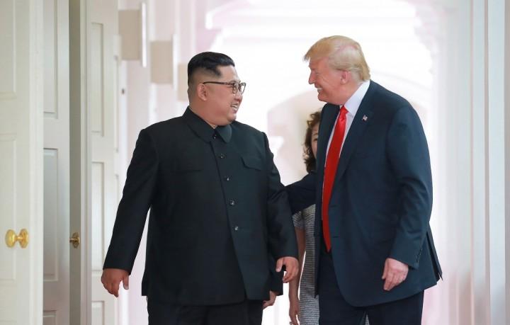 Trump Bersedia Dihubungi Kim Jong-un Kapan Saja