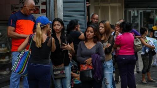 Korban selamat dari kerusuhan di kelab malam Venezuela. (Foto: